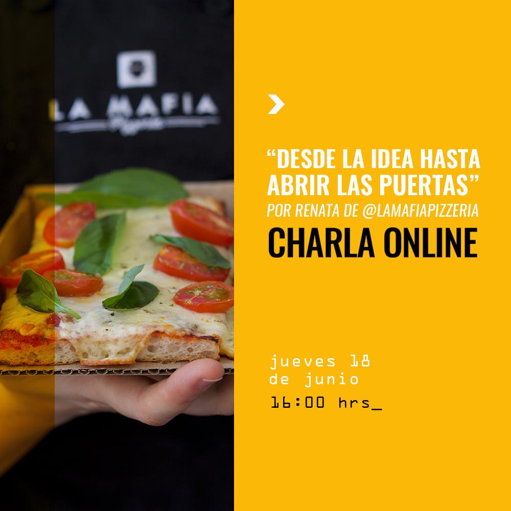 Charla Pizza 18 Junio