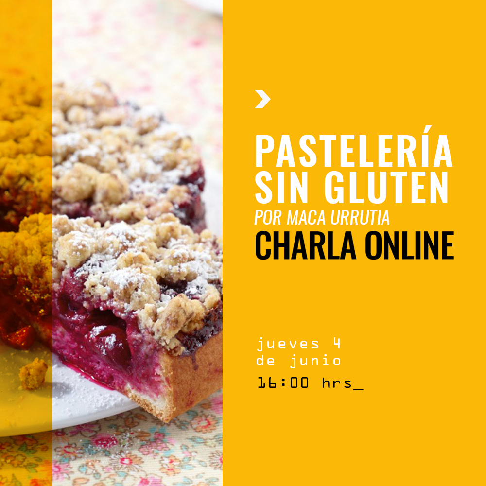 Charla pasteleria sin gluten 4 Junio
