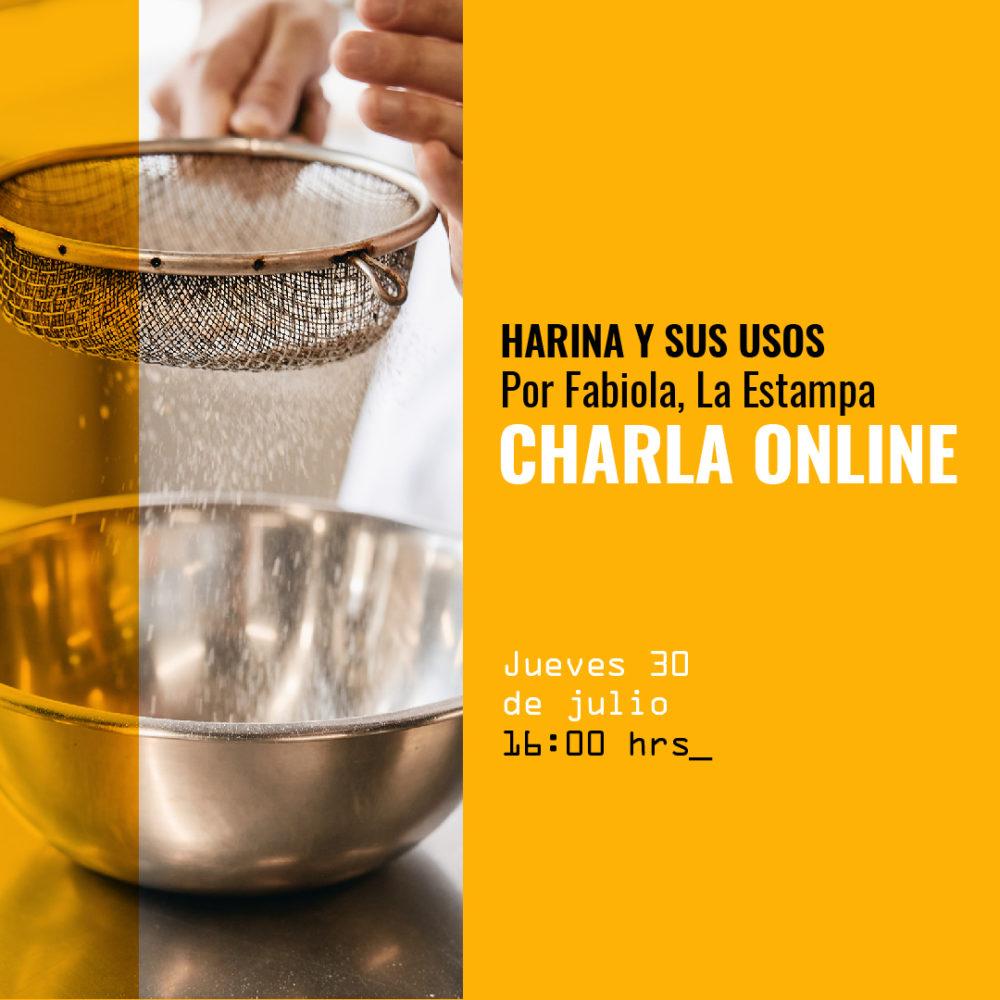 Charla online - Harina - AB - 08 jul