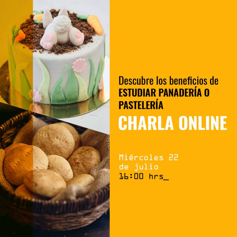 Charla online - Panaderia y pasteleria - Artebianca - 9 julio